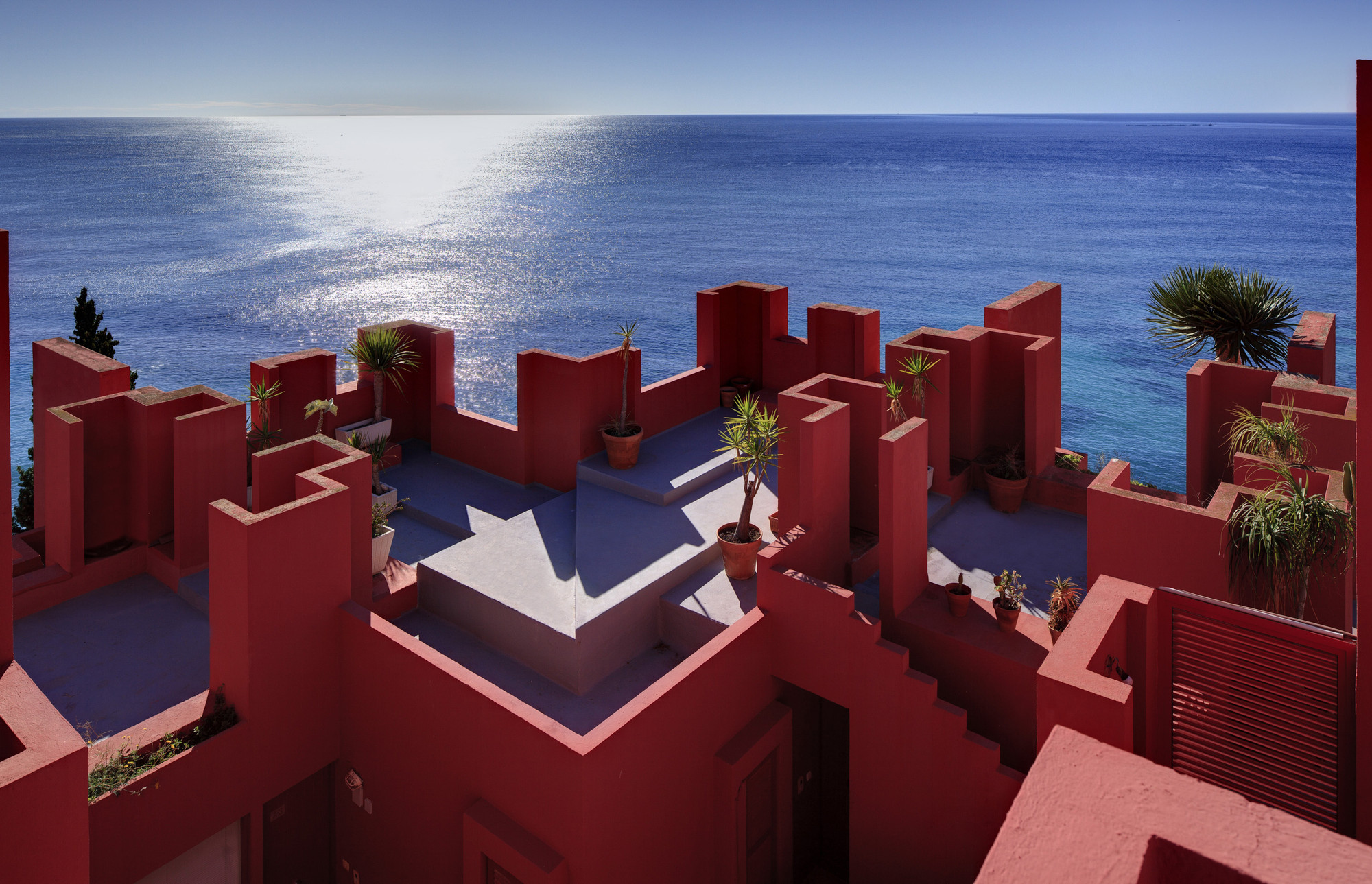 AD Classics: La Muralla Roja / Ricardo Bofill, Courtesy of Ricardo Bofill