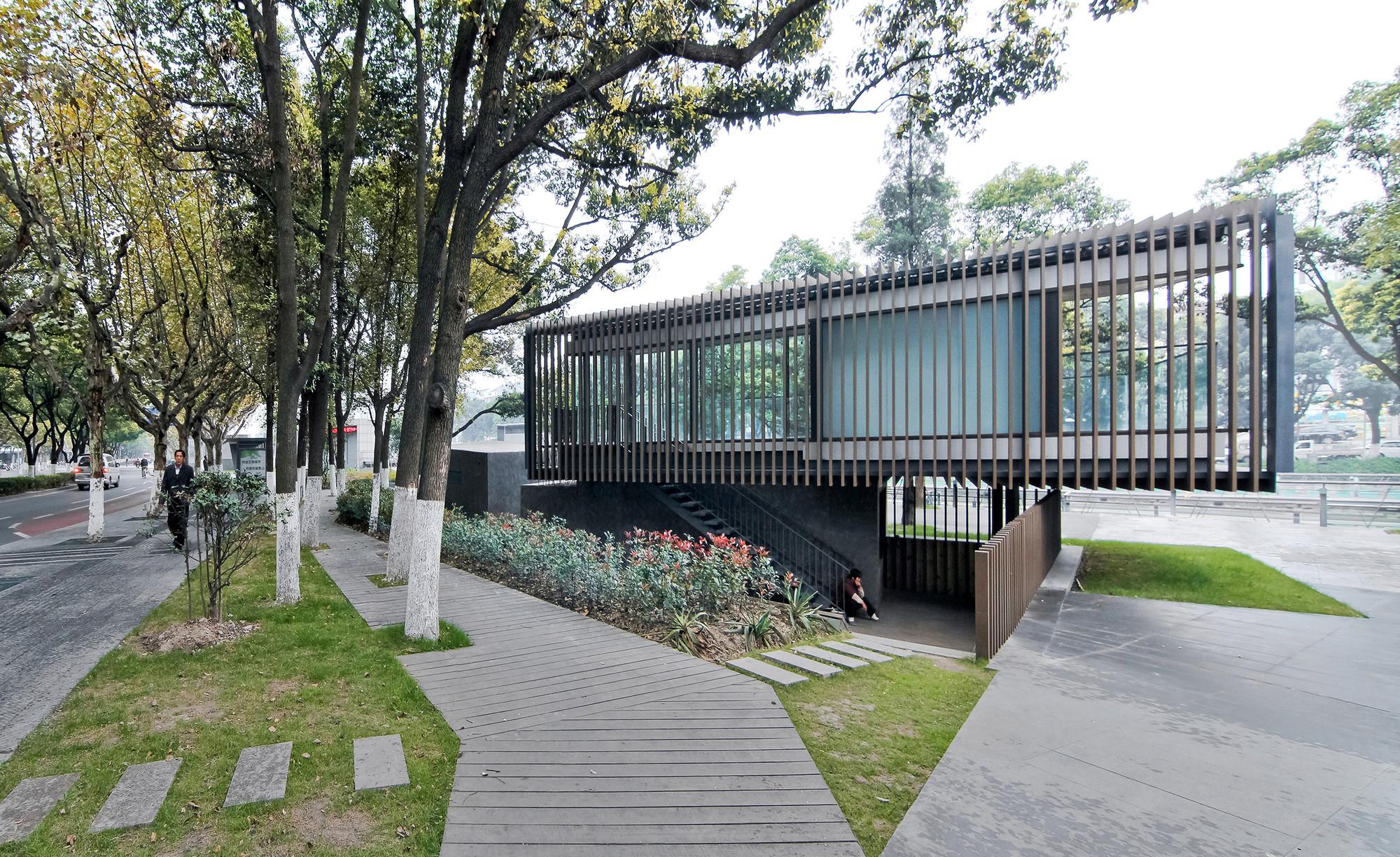 Riverside Park Pavilion Vector Architects Archdaily