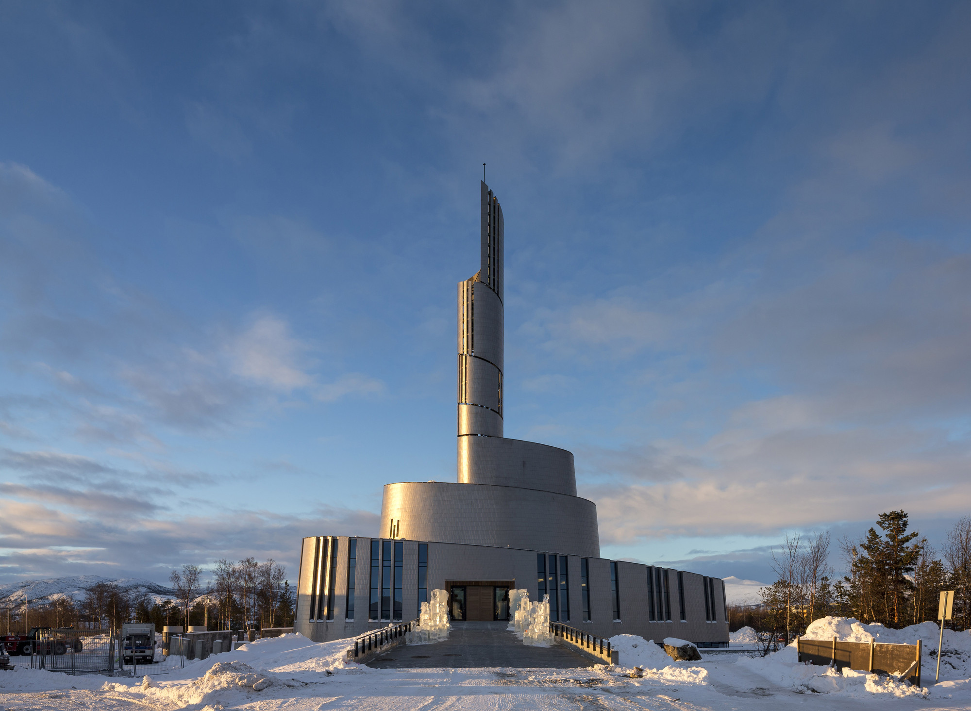 Gallery Of Cathedral Of The Northern Lights Schmidt