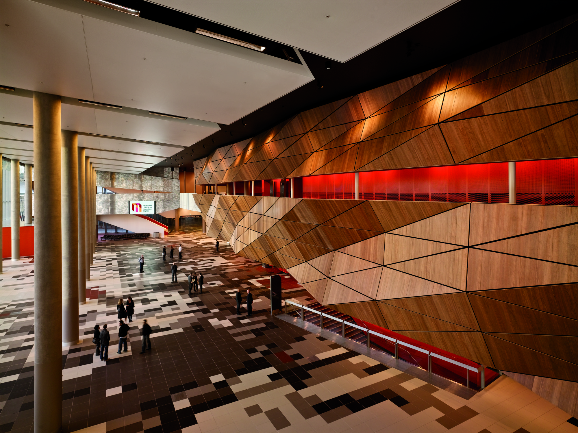 D Exhibition Melbourne : Gallery of melbourne convention and exhibition centre