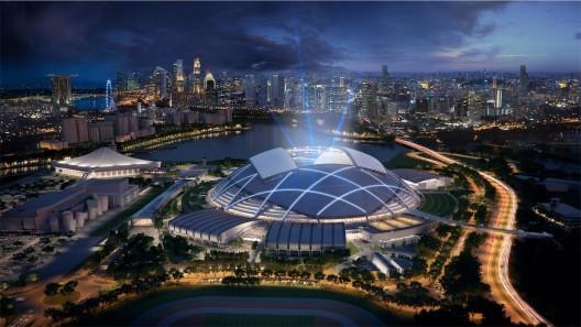 Singapore Sports Hub / Arup © Singapore Sports Hub, Oaker