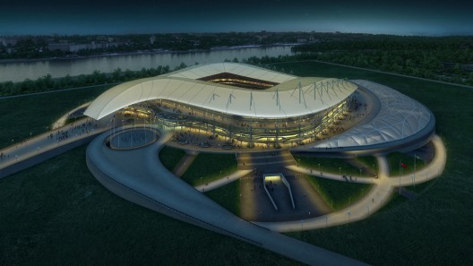 2018 World Cup: Rostov Stadium / Populous