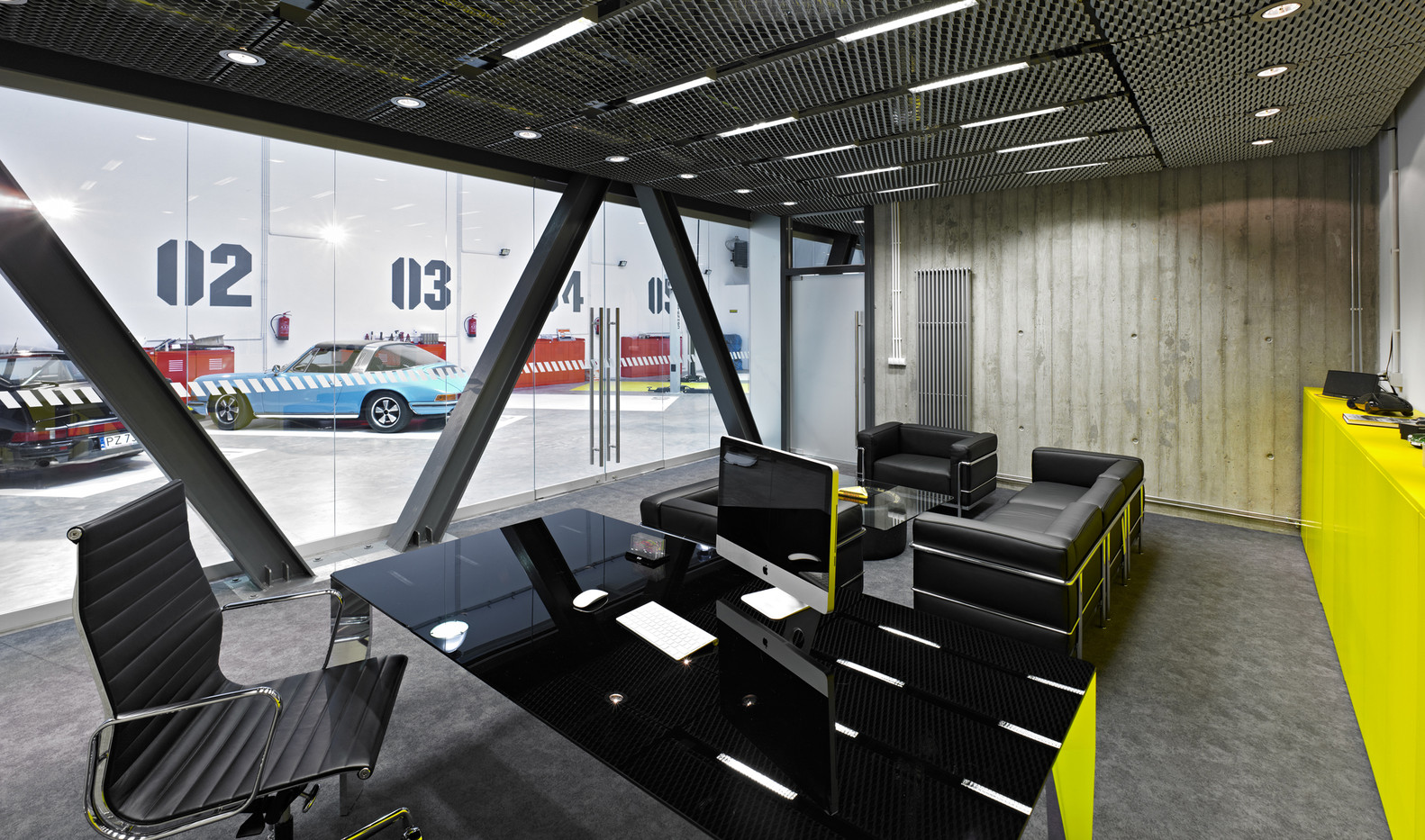 Gallery Of Office Garage Ultra Architects 12