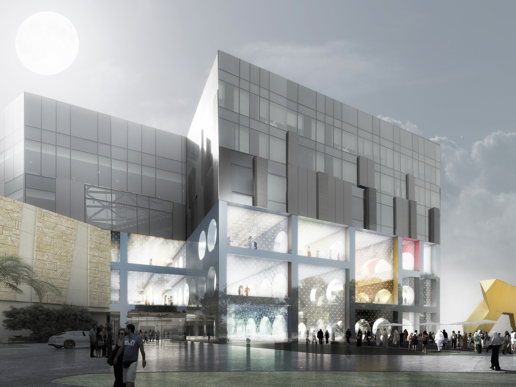 D Virtual Exhibition Software : The exhibition hall oma archdaily