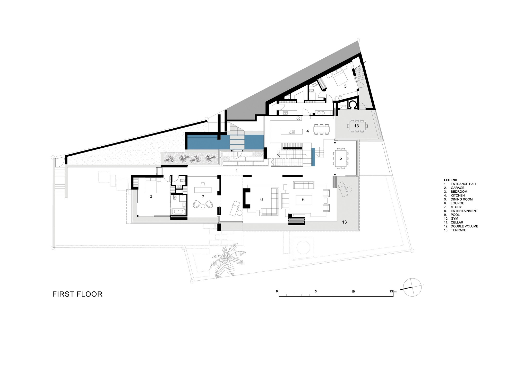 Gallery of st leon 10 saota stefan antoni olmesdahl for Apartment plans south africa