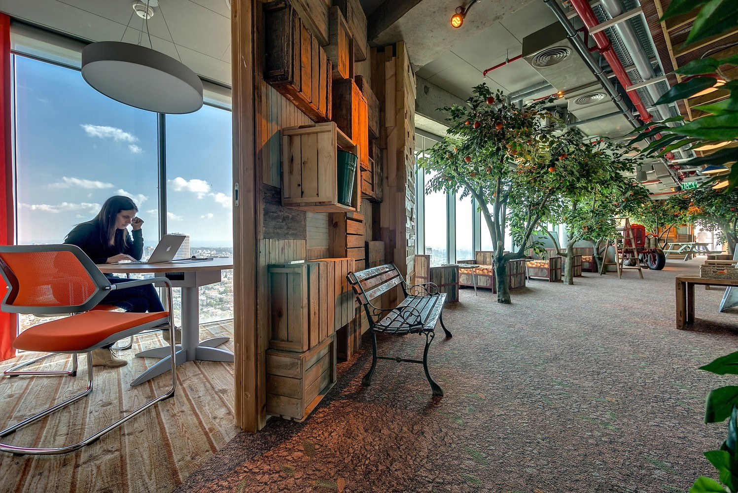 google tel aviv office. Google Tel Aviv Office,© Itay Sikolski Office ArchDaily