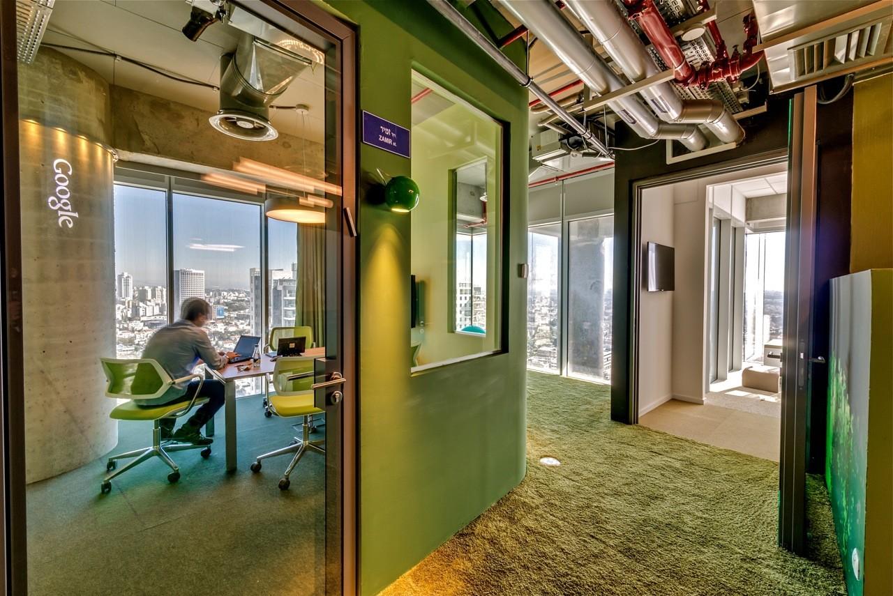 Google Tel Aviv Office / Camenzind Evolution