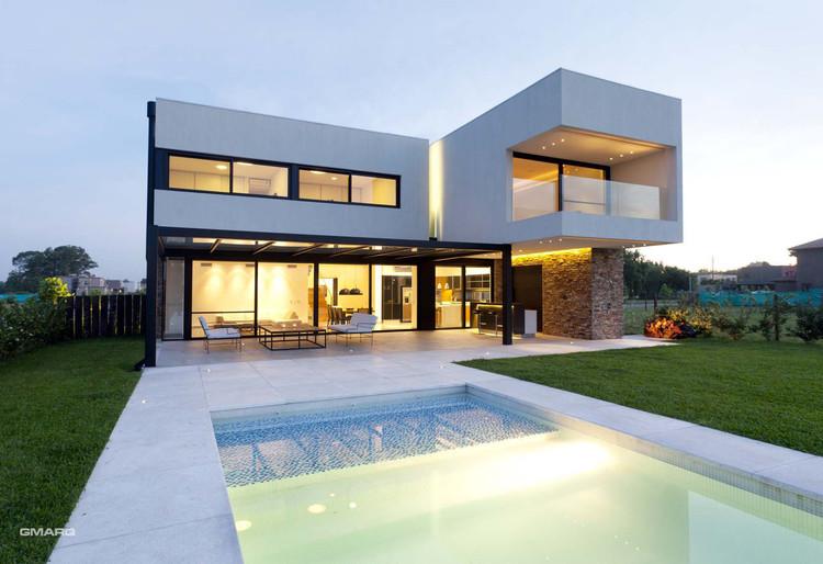 Casa a estudio gmarq plataforma arquitectura for Casa estudio arquitectura