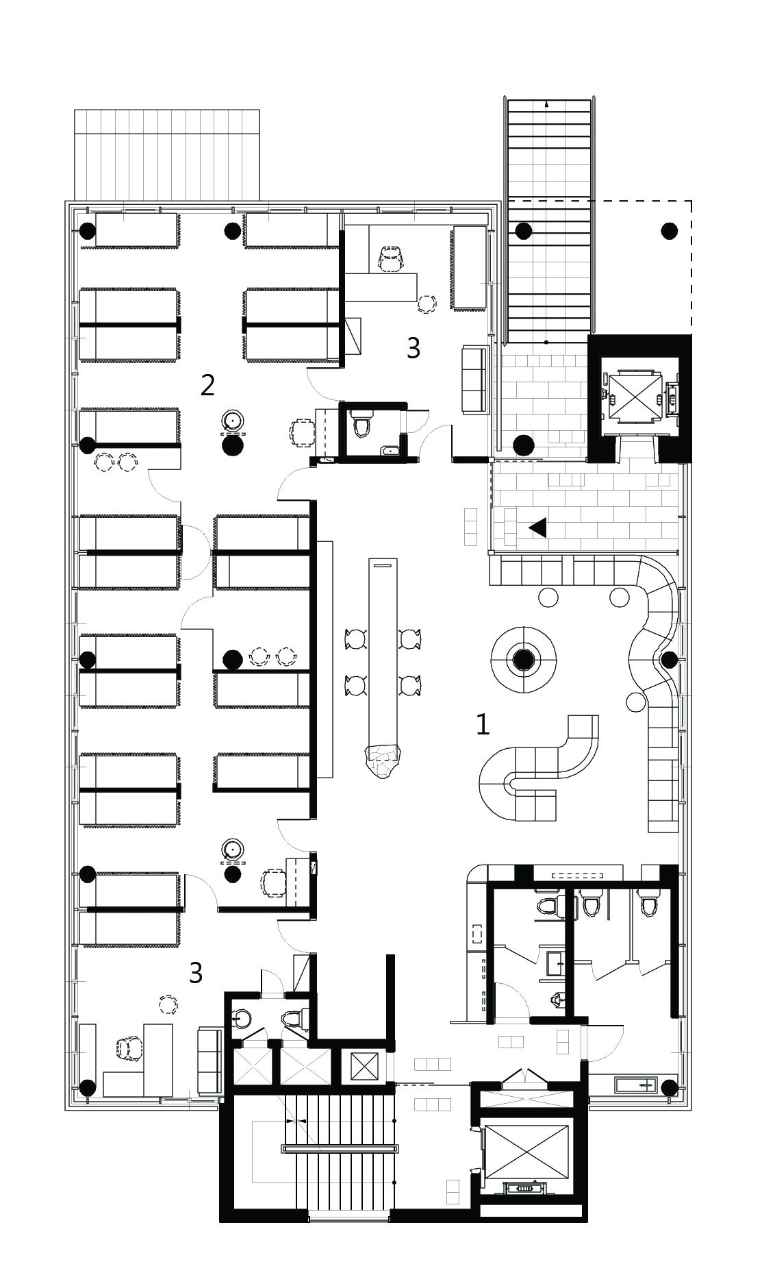 58b34762e58ece2b45000891 Habitat On Terrace Refresh Star Design Floor Plan Level 01 further Rayburn House Office Building Floor Plan moreover 511dcb21b3fc4bd9a2000393 Choonwondang Oriental Clinic Museum Doojin Hwang Architects 2nd Floor Plan in addition Standard Kitchen Layouts Kitchen in addition Ipeco 737 Pilot Seat. on office layout