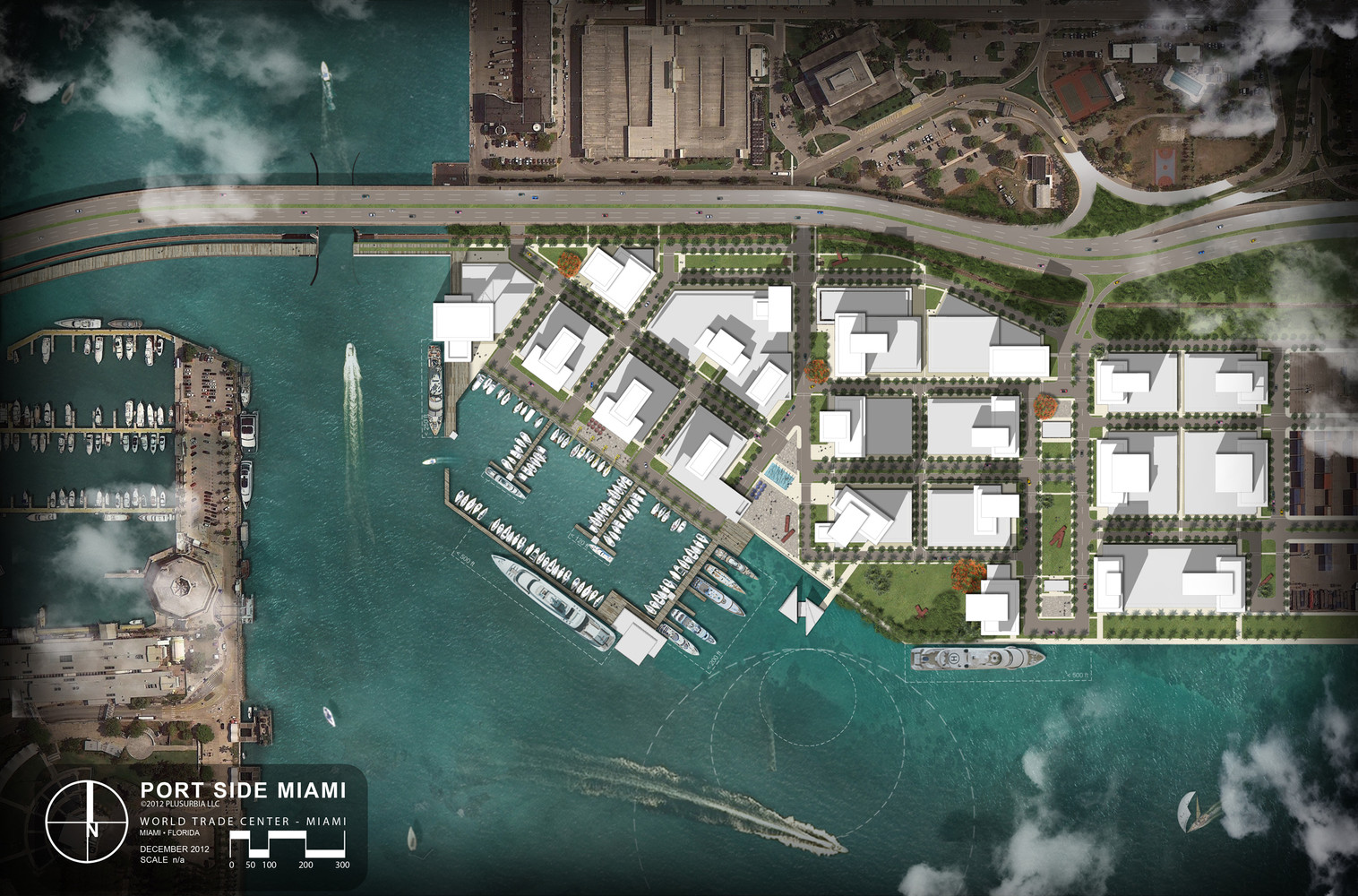 Gallery Of PortSide Miami PlusUrbia Design - Port design
