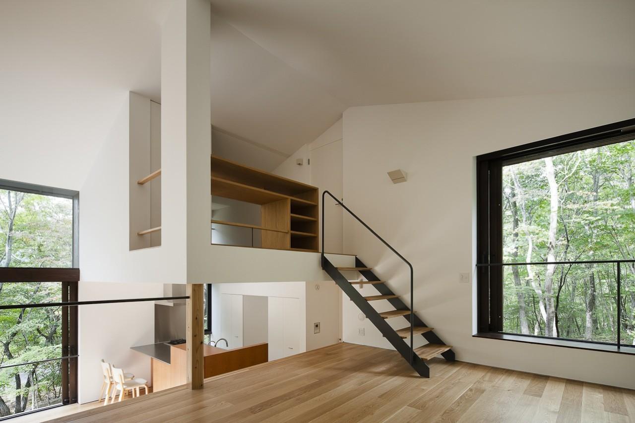 Lodge en Niveles / Naoi Architecture & Design Office, © Hiroshi Ueda