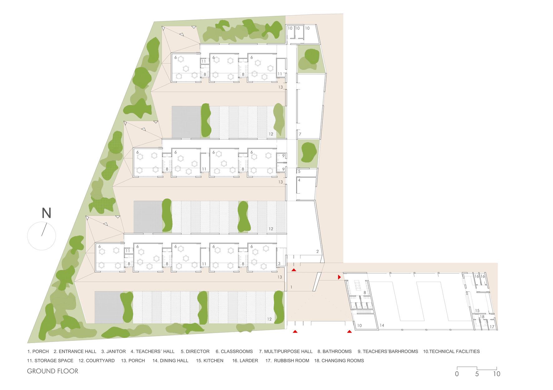 Gallery of parque goya kindergarten mag n arquitectos 8 for Plan de arquitectura