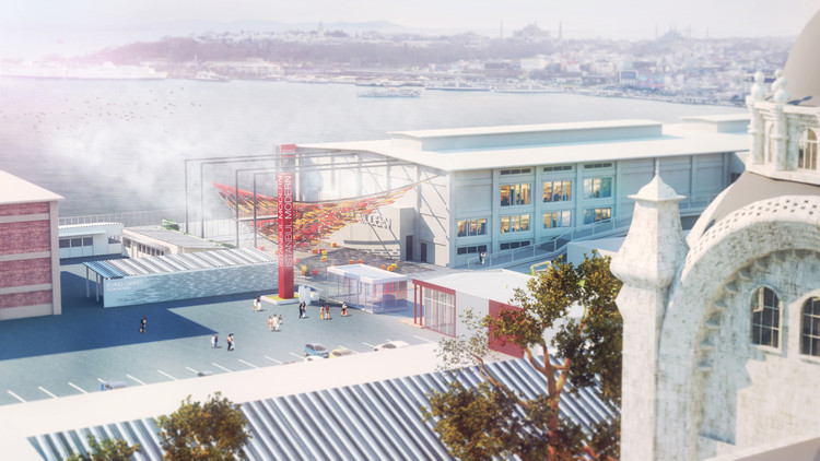'Tearing the Ground' YAP Istanbul Modern Proposal / ONZ Architects, Courtesy of ONZ Architects
