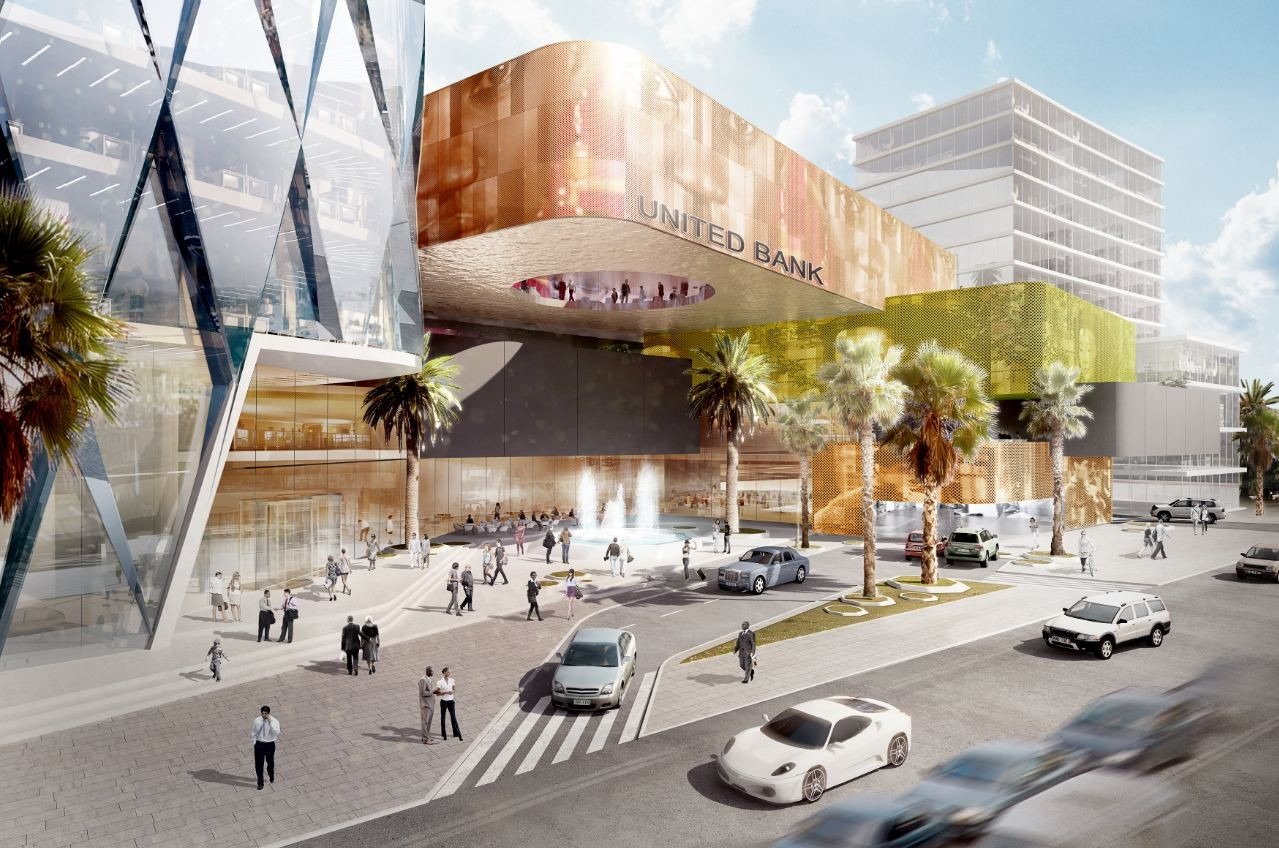 United bank of addis ababa proposal s hne partner for Bank designs architecture