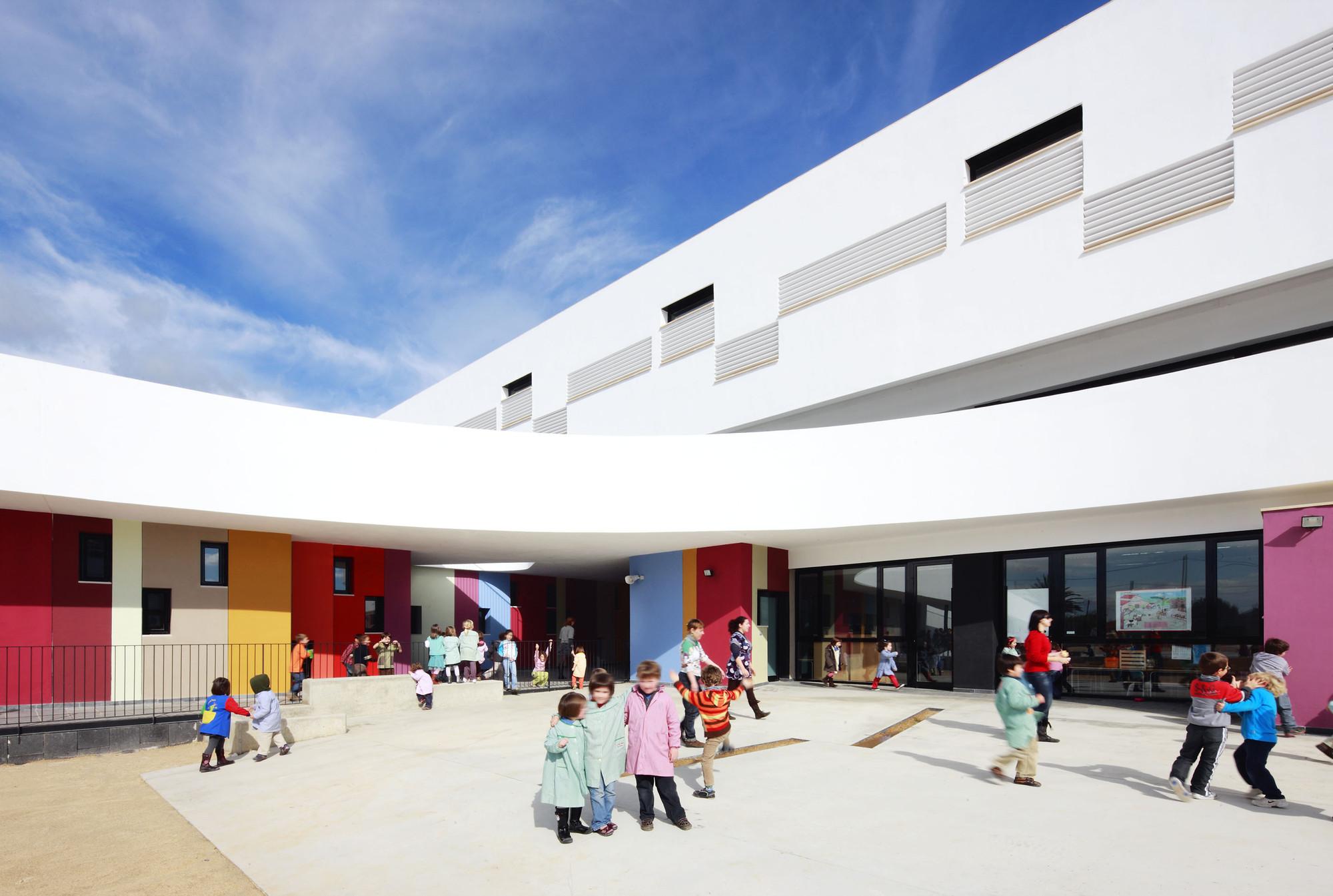 Binissalem School Complex / RIPOLLTIZON, © José Hevia