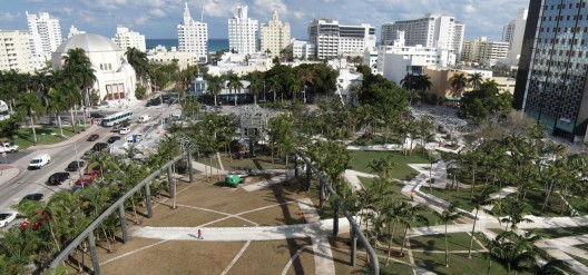 2013 Douglas C. Allen Lecture: Adriaan Geuze, Miami Beach Soundscape / Courtesy of West 8