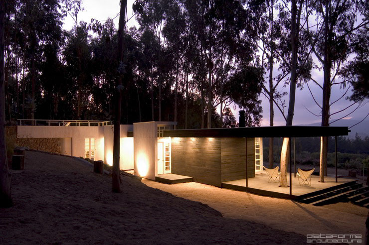 Galer a de casa del bosque f3 arquitectos 2 for Casa minimalista bosque