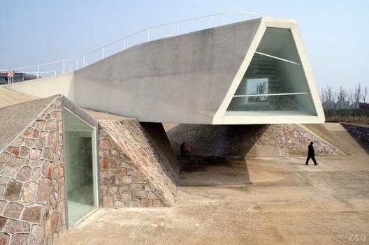 Sala de Exhibiciones, Jinhua Architecture Park - Tatiana Bilbao mx.a / Tatiana Bilbao, © Max Von Merz (MXA)
