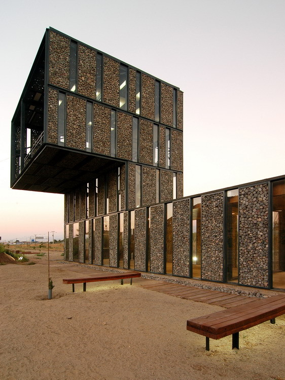 Acceso Parque Metropolitano Sur / Polidura Talhouk Arquitectos, © Marcos Mendizabal