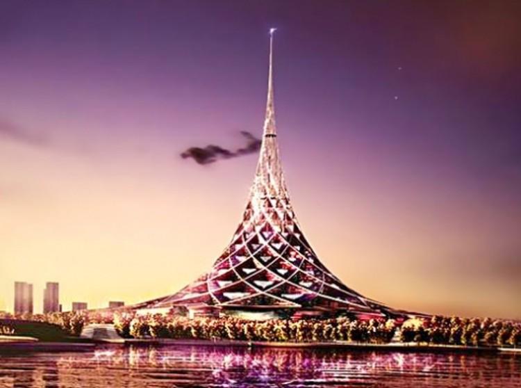 Crystal Island: El edificio más grande del mundo. / , © Unknown photographer