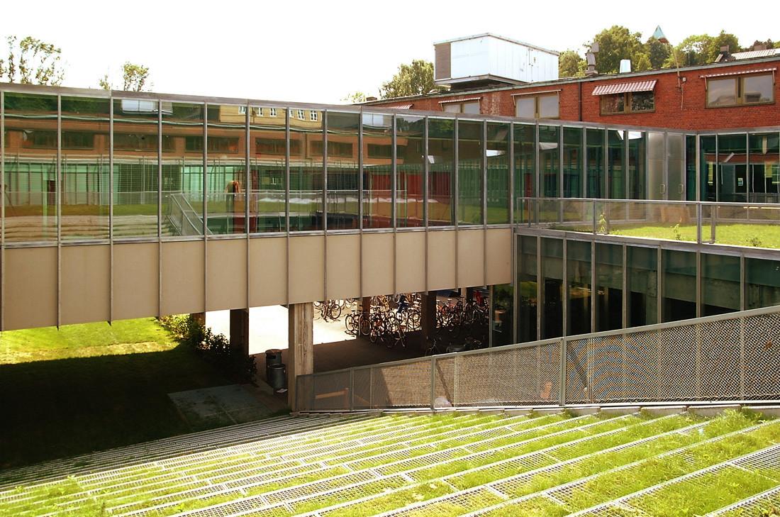 Escuela de Arquitectura de Oslo / JVA, © Nils Petter Dale