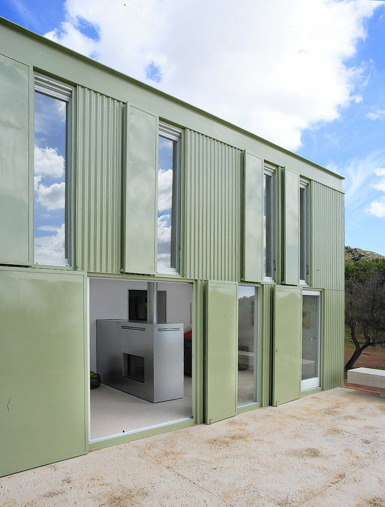 Casa en el campo juan herreros arquitectos plataforma arquitectura - Arquitectos en mallorca ...