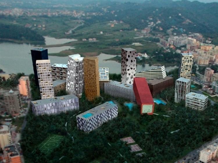 """Tirana Rocks"" / MVRDV proyectará singular renovación urbana en Albania, © Unknown photographer"