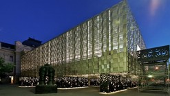 Montaje XVI Bienal de Arquitectura / Assadi  + Pulido