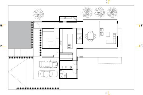 Galer a de casa moro anonimous led 10 for Casas minimalistas planta baja