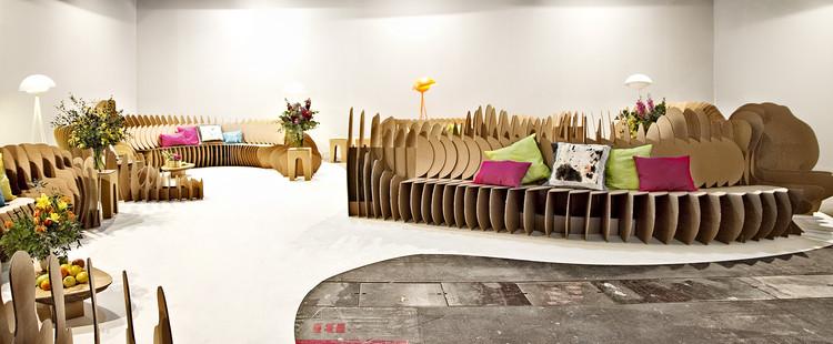 Cardboard Fun / Sanchez-Garrido Architects , Cortesia de Sanchez-Garrido Architects