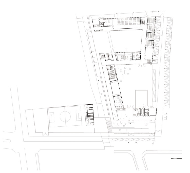 San Sebastián School / Tidy Arquitectos | ArchDaily