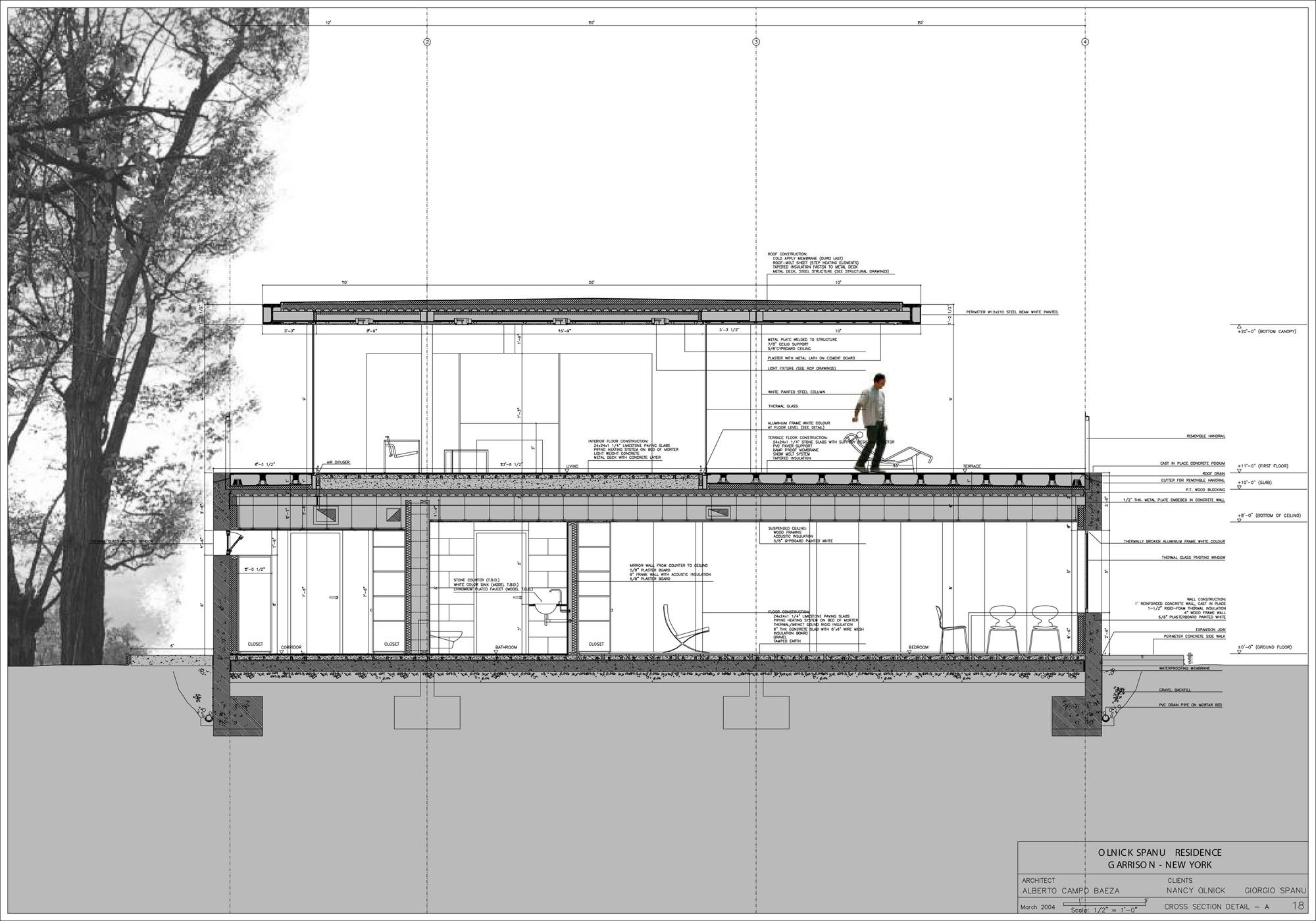Galer 237 A De Casa Olnick Spanu Estudio Arquitectura Campo