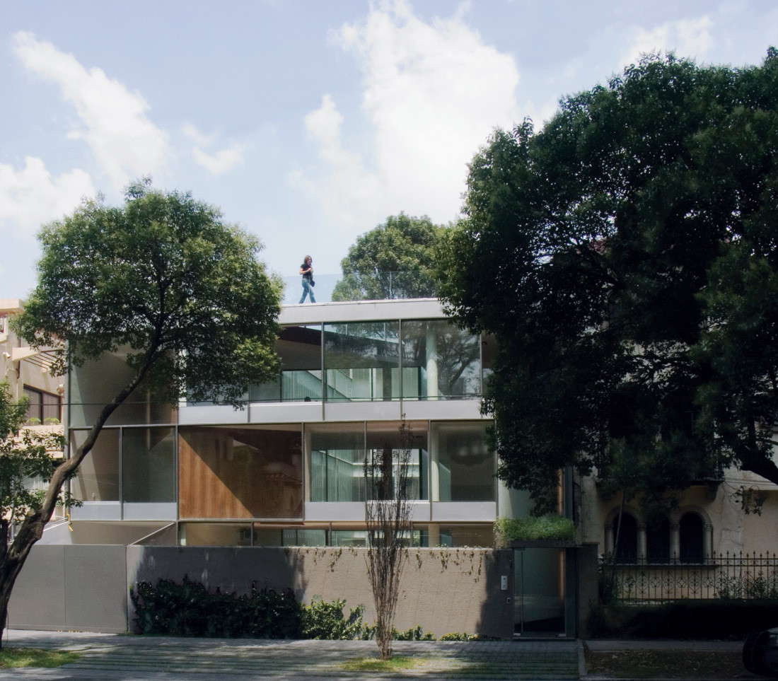 Edificio de departamentos CB 29 / Dellekamp Arquitectos, ©  Dante Busquets