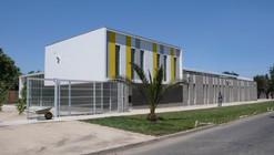 Biblioteca Municipal Quinta Normal / Juan Luis Brieva, Juan Antonio Bustos, Felipe Urbina,Rodrigo Ulloa