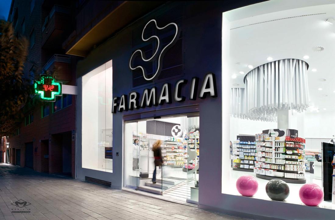 Farmacia Conde Lumiares / Mobil M, © Pelut i Pelat