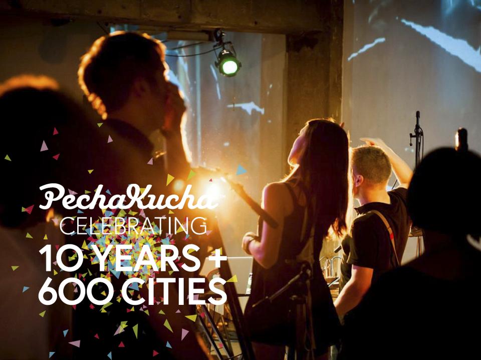 PechaKucha Celebrates 10 Years!, via PechaKucha