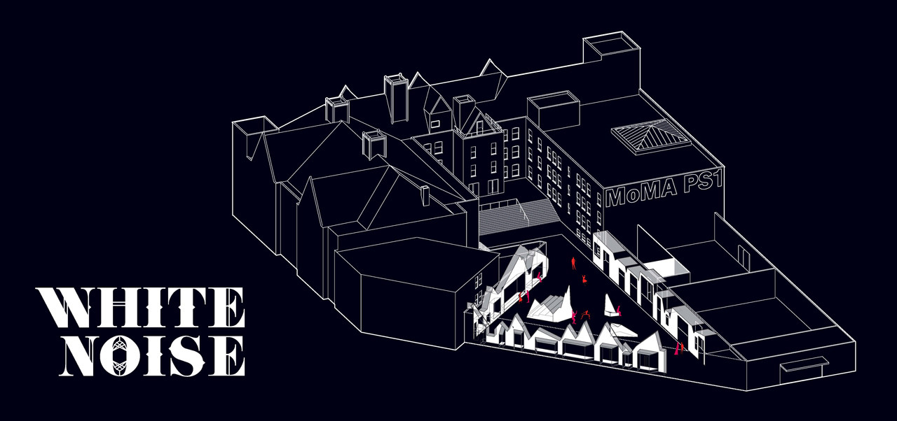 'White Noise' YAP MoMA PS1 Proposal / French 2Design, Courtesy of French 2Design