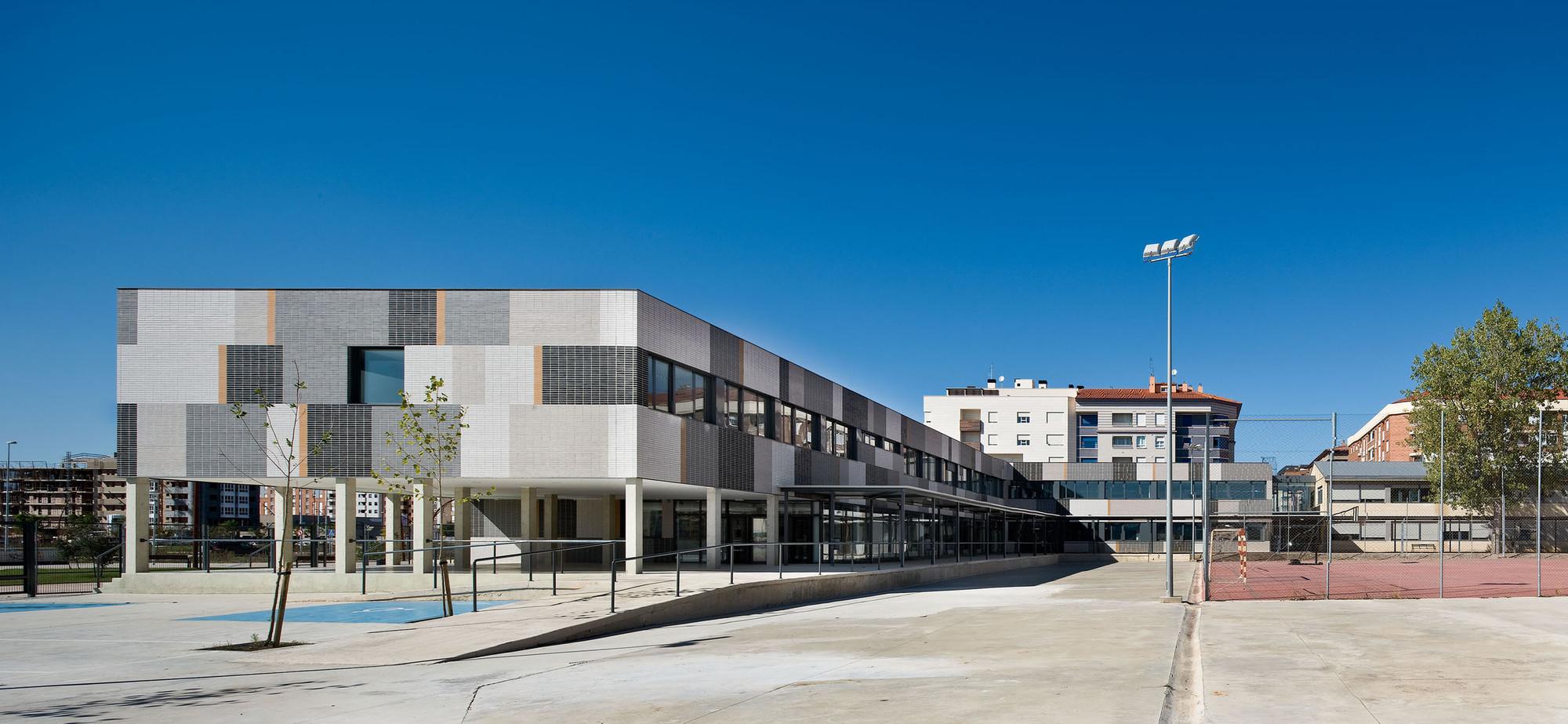 Ampliación Instituto Montes Obarenes / Virai Arquitectos, © José Manuel Cutillas