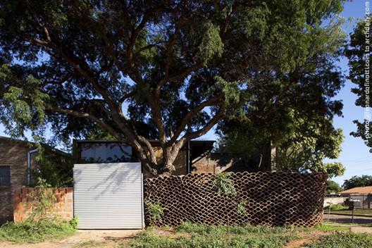Osypyte single family house / Javier Corvalán + Laboratorio de Arquitectura, © Leonardo Finotti