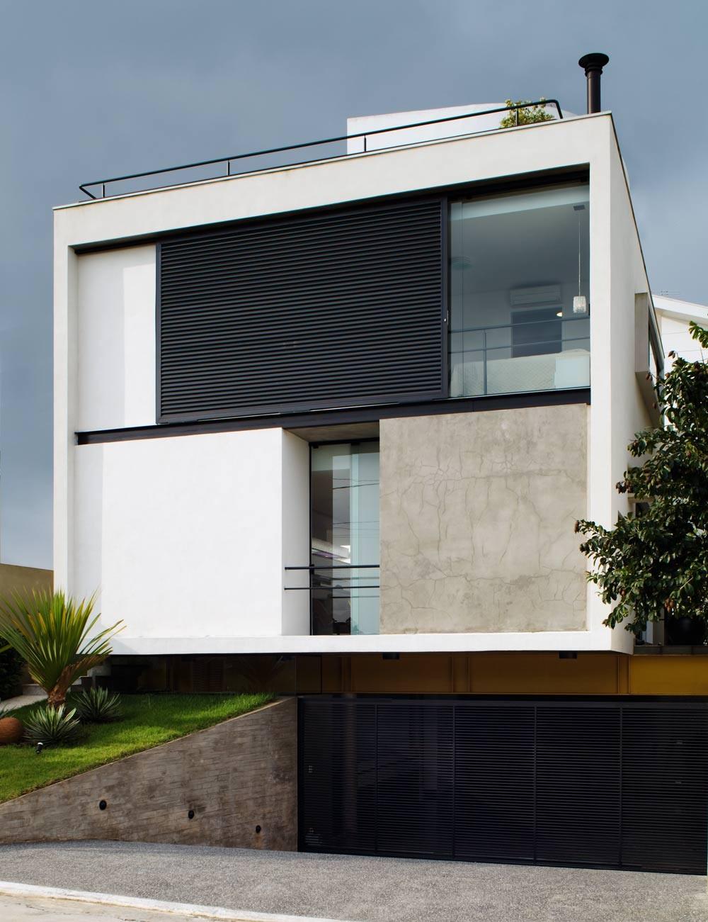 Residencia Mirante do Horto / Flavio Castro Arquitetos, © Nelson Kon