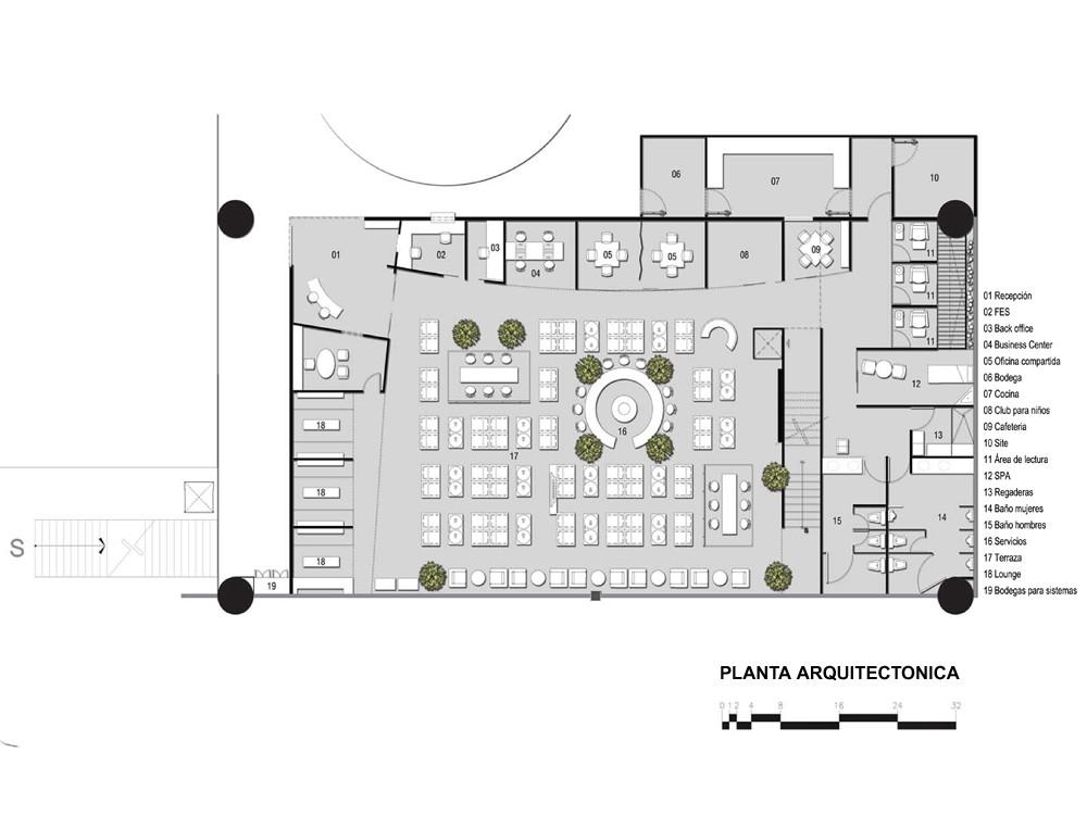 Sal n de ltima espera terminal aeropuerto internacional for Salon de usos multiples programa arquitectonico