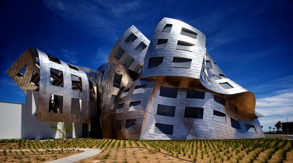 Clínica de Salud Mental Lou Ruvo en Las Vegas   Frank Gehry ... 19caed5c3d9a