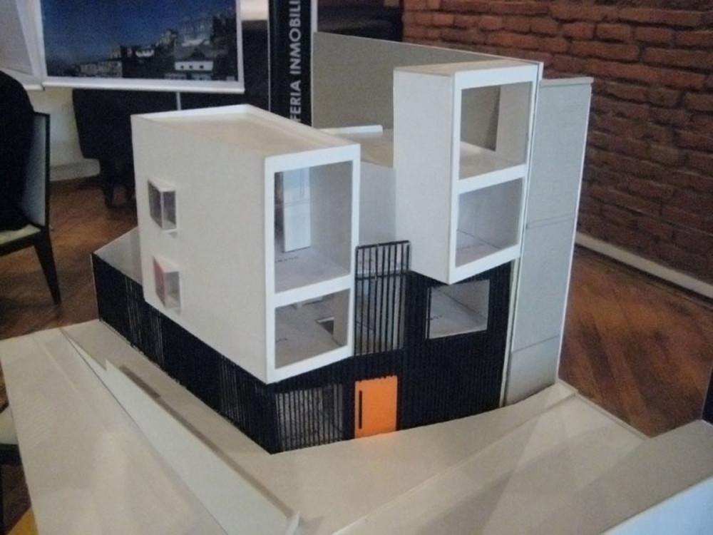 Galer a de vivienda stuardo molo arquitectos 20 for Casa minimalista maqueta