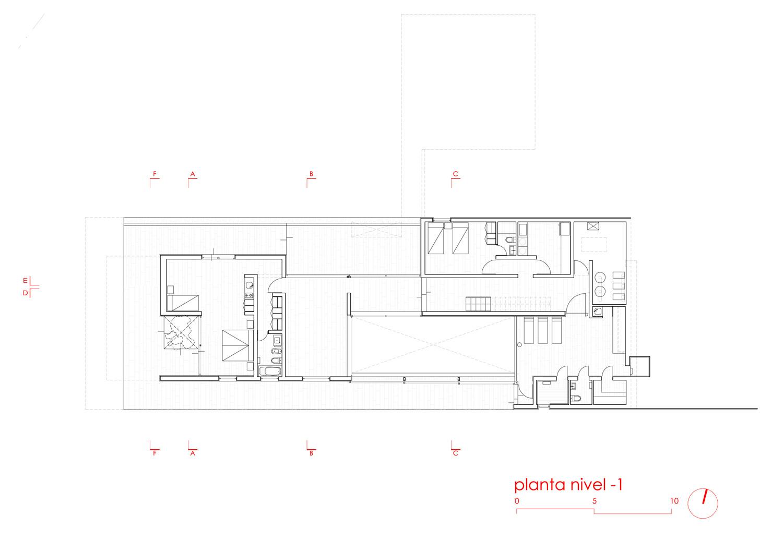 Galer a de casa techos mathias klotz 13 for Techos para galerias de casas