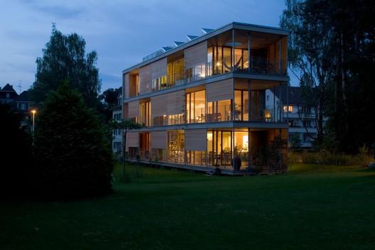 Edificio gebhartstrasse halle 58 architekten for Garajes organizados