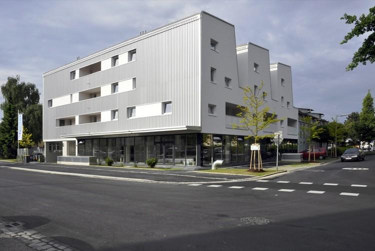 """Conjunto de vivienda """"Mi casa es mi Patio"""" / x architekten, © Max Nirnberger"""