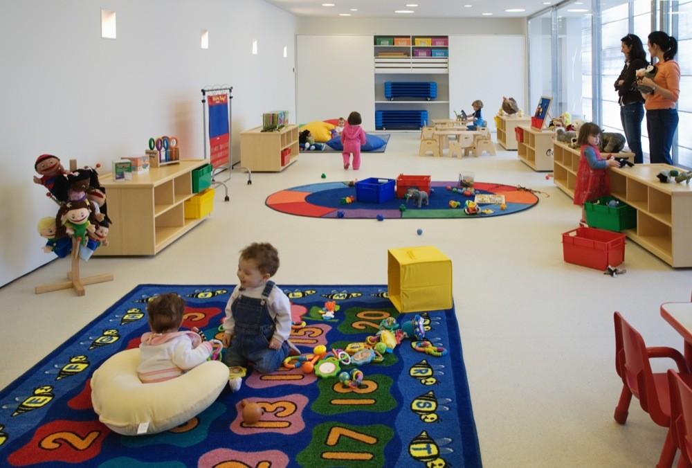 Guarder a de la primera edad marcio kogan archdaily for Play school interior design ideas