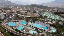 Complejo acuático para los IX Juegos Suramericanos / Paisajes Emergentes