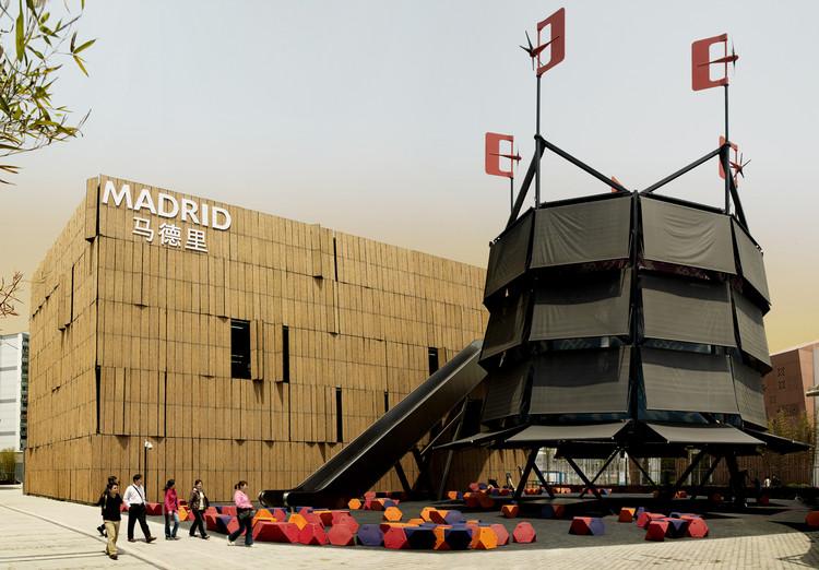 Árbol de Aire –  Espacio público del Pabellón de Madrid Shanghai Expo 2010 / Ecosistema Urbano, © Unknown photographer