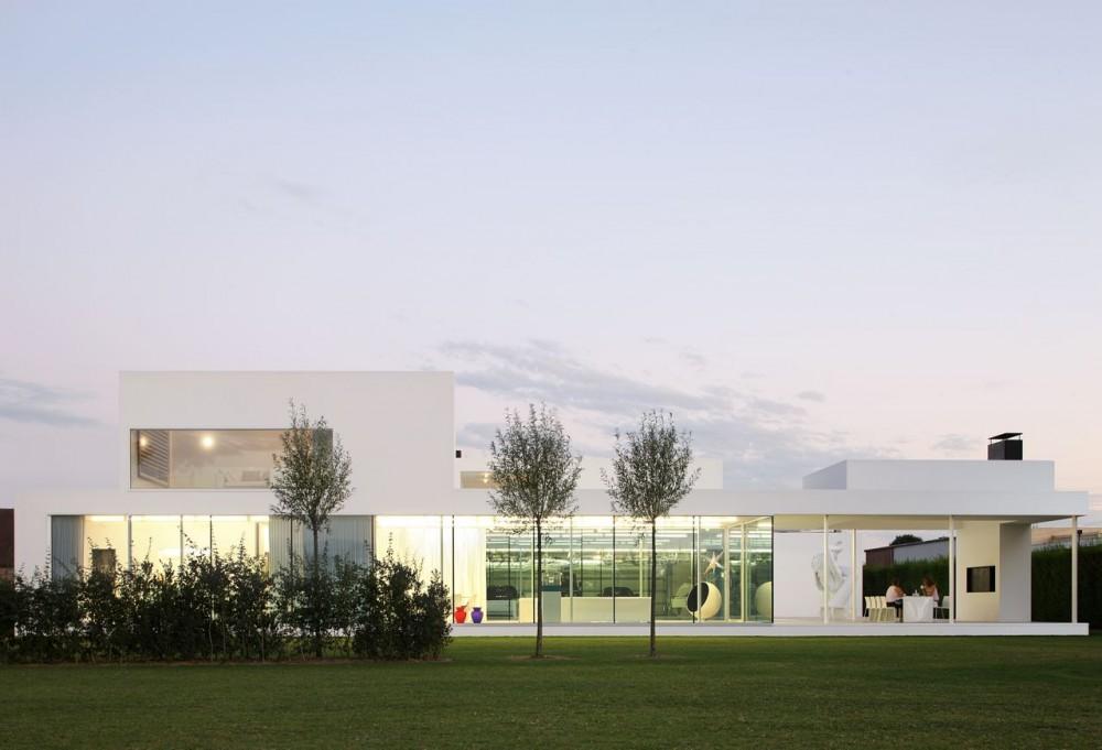 Villa VH en T / Beel & Achtergael Architecten, © Filip Dujardin